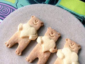 ハート クマ クッキー