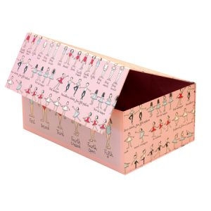 バレリーナデザインのお道具箱