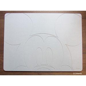 ミッキーマウス 珪藻土バスマットライト