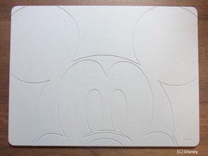 ミッキーマウスデザインの珪藻土バスマット