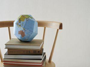 組立式地球儀