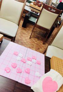 囲碁サロン 野田石心でハート将棋