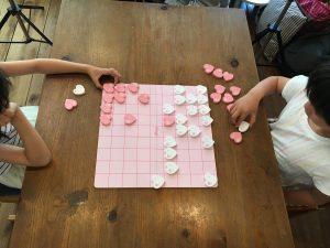 ピンク色の可愛い将棋